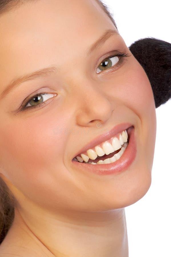 Maquillaje dulce fotos de archivo