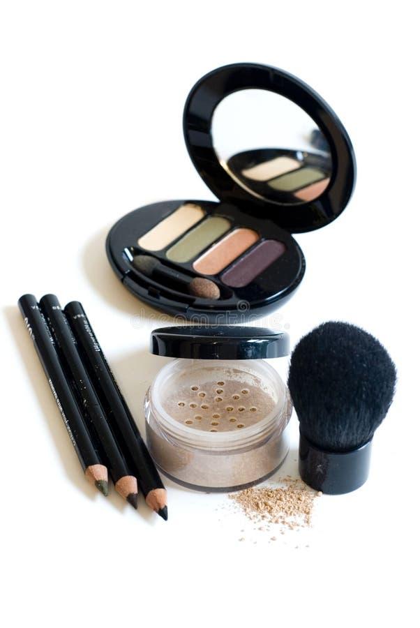 Maquillaje en blanco fotografía de archivo