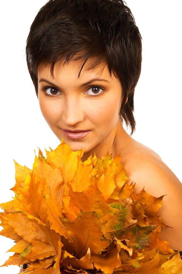 Download Maquillaje natural foto de archivo. Imagen de cara, hoja - 1279038