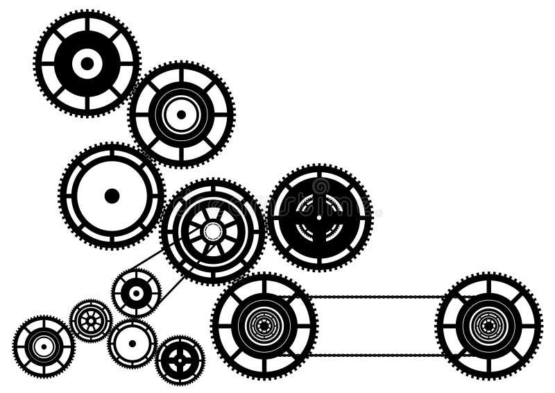 Maquinaria stock de ilustración