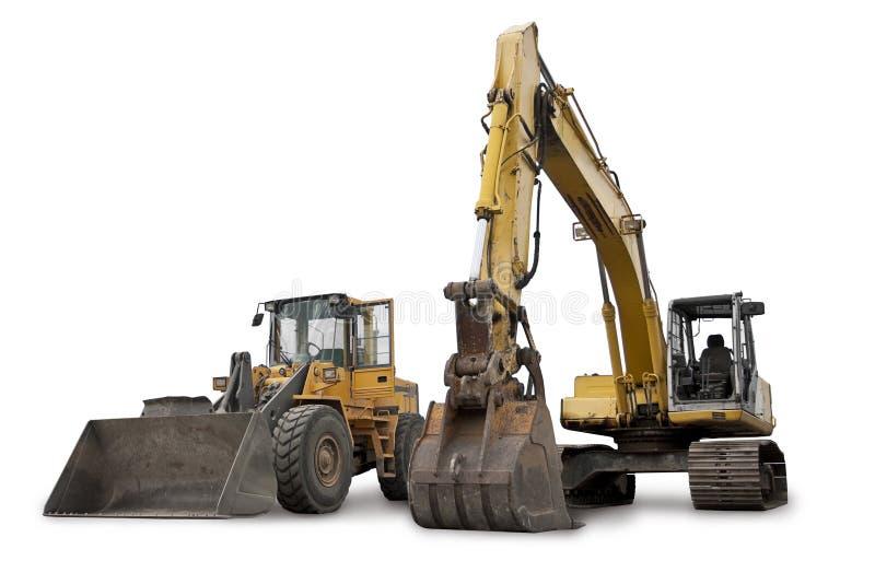 Maquinaria de construção imagens de stock royalty free