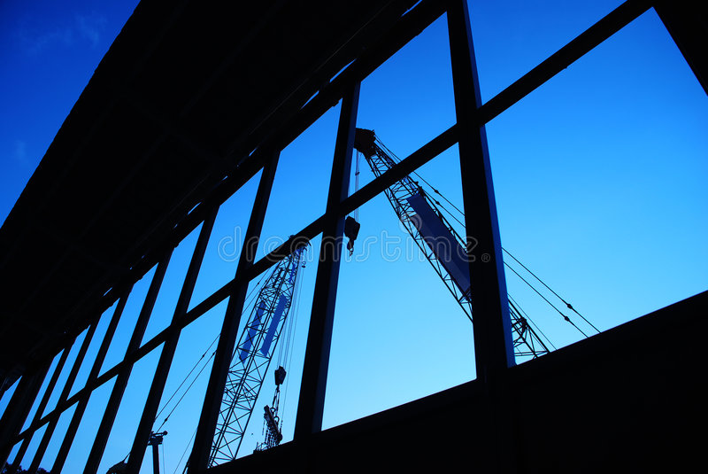 Maquinaria de construção 7 imagem de stock royalty free