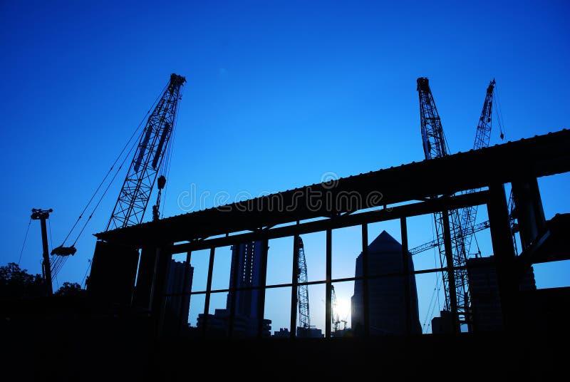 Maquinaria de construção 8 fotografia de stock