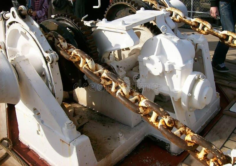 Maquinaria de Sailingboat fotos de stock royalty free