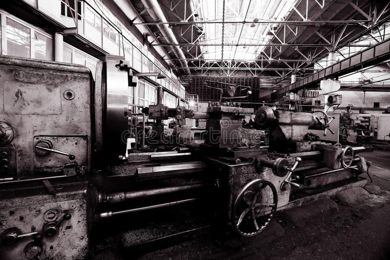 Maquinaria de torneado del equipo fotografía de archivo