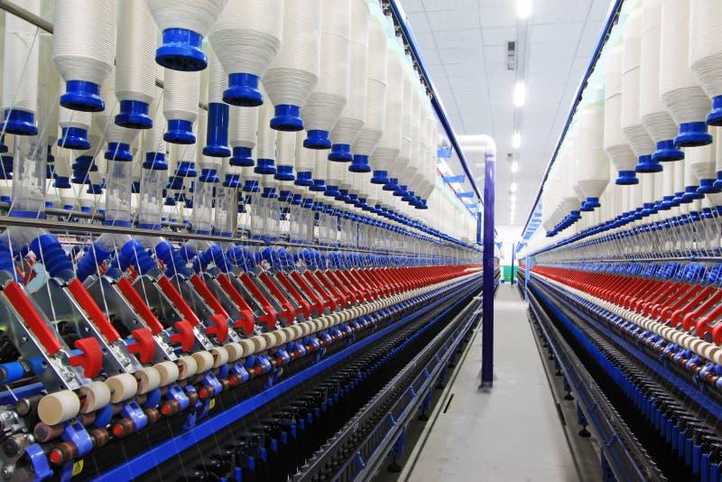 Maquinaria e equipamento de giro da planta imagens de stock