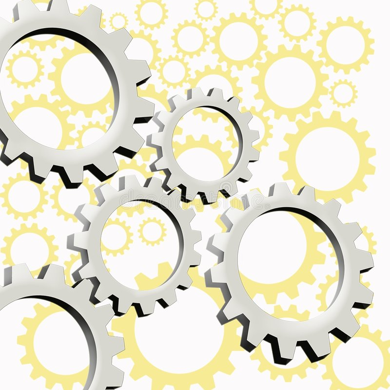 Download Maquinaria en la acción stock de ilustración. Ilustración de rueda - 193374