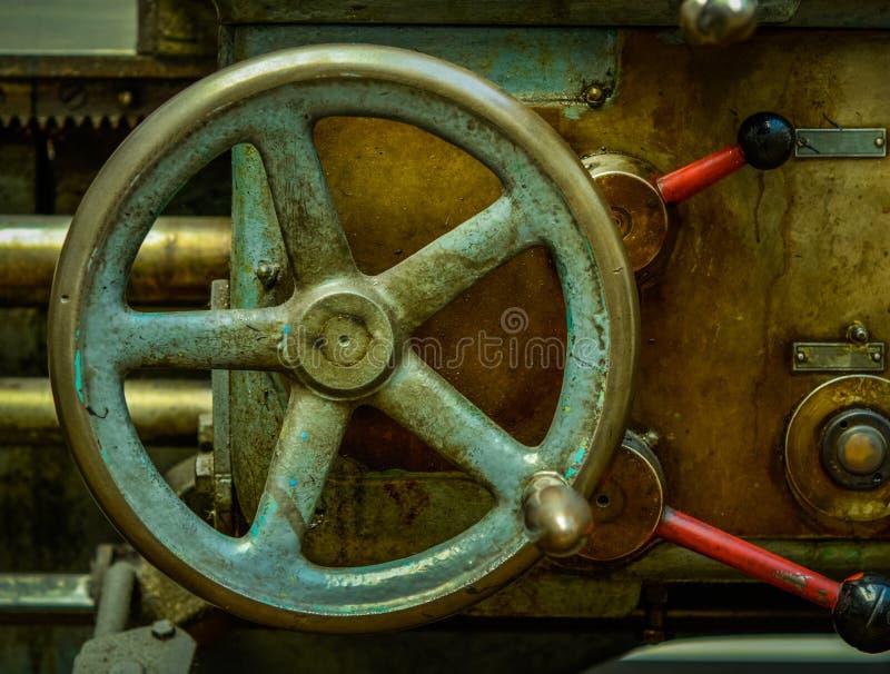 Maquinaria industrial del vintage imagenes de archivo