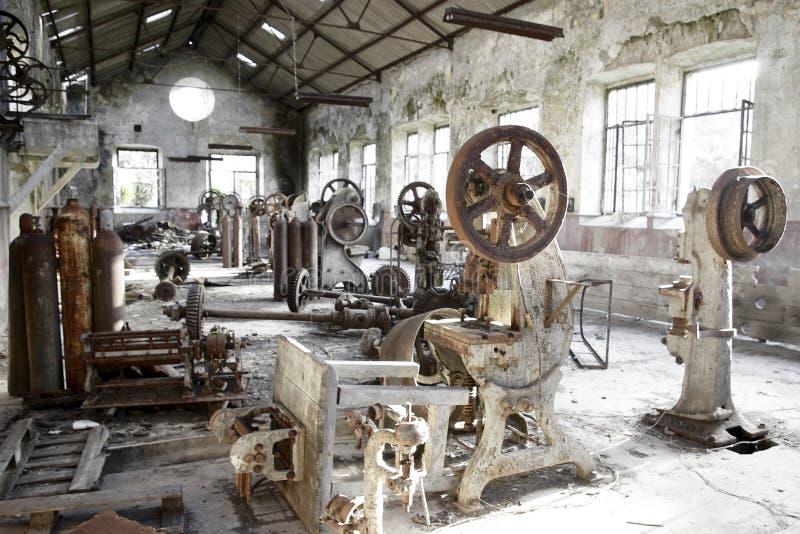 Maquinaria oxidada fotos de archivo