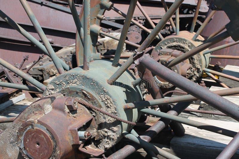 Maquinaria oxidada fotografía de archivo libre de regalías