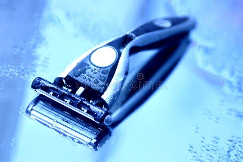 Maquinilla de afeitar de los hombres imagen de archivo libre de regalías