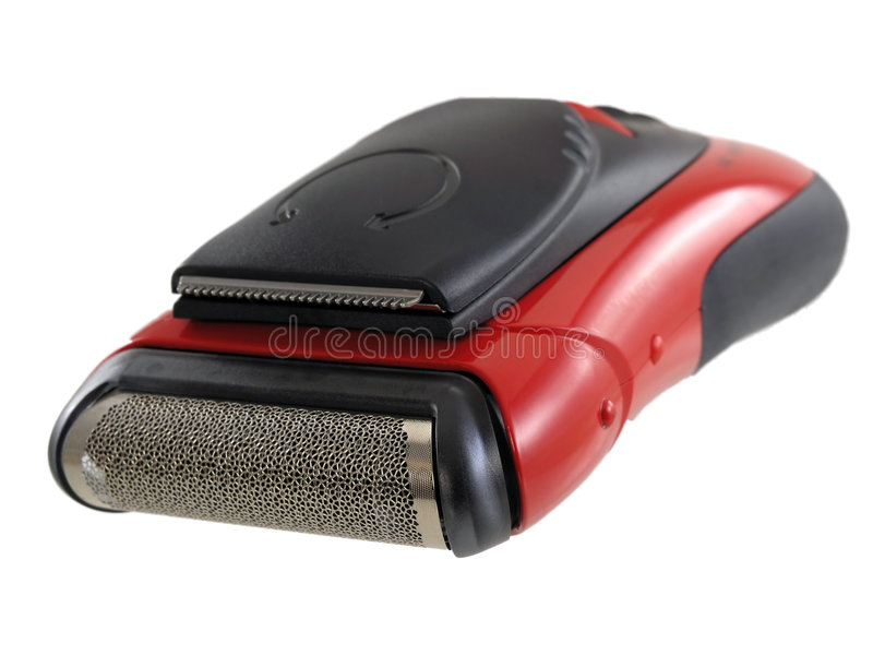 Maquinilla de afeitar eléctrica fotos de archivo