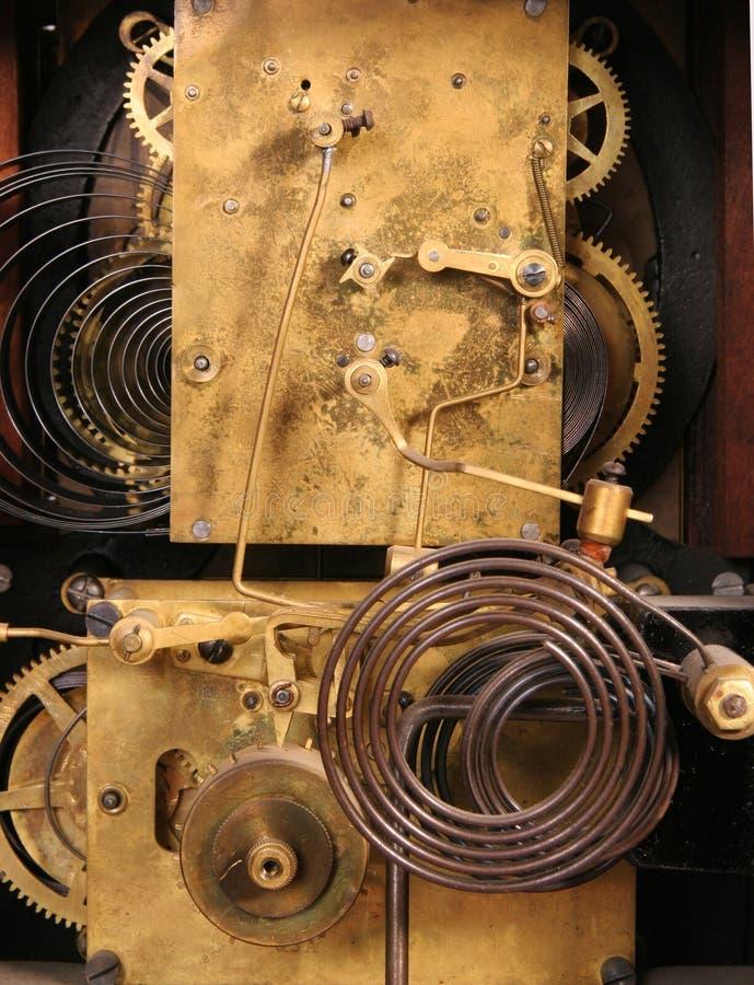 Maquinismo de relojoaria na cor imagem de stock