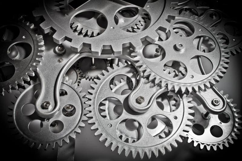 Maquinismo de relojoaria quatro imagem de stock
