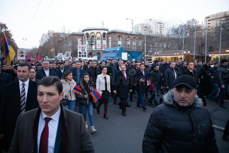 março armênio foto de stock