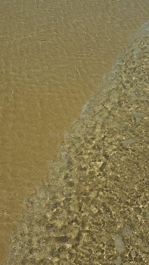 Maré da praia fotografia de stock royalty free