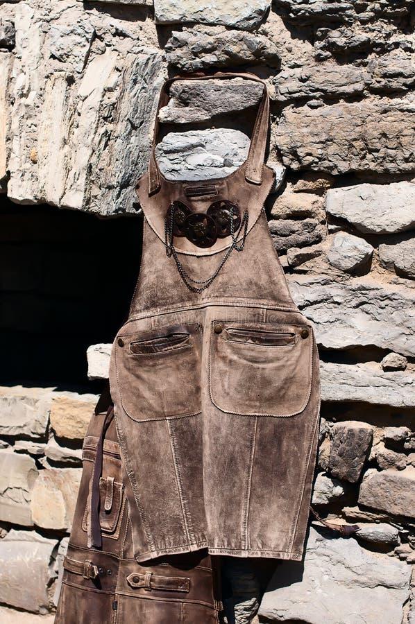 Maréchal-ferrant de costume image stock