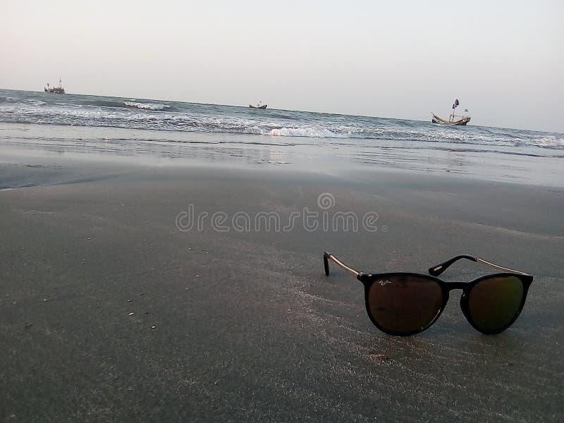 Marées et sables photographie stock libre de droits