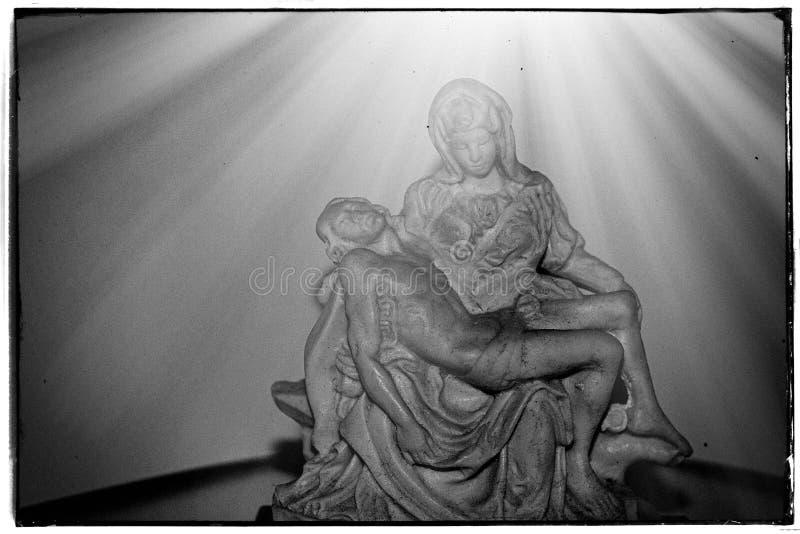 María y Jesús fotografía de archivo libre de regalías