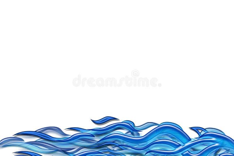 Mar abstracto libre illustration