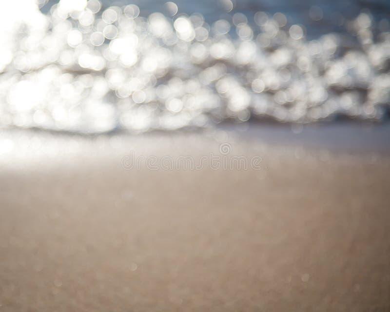 Mar abstrato fundo borrado fotos de stock royalty free