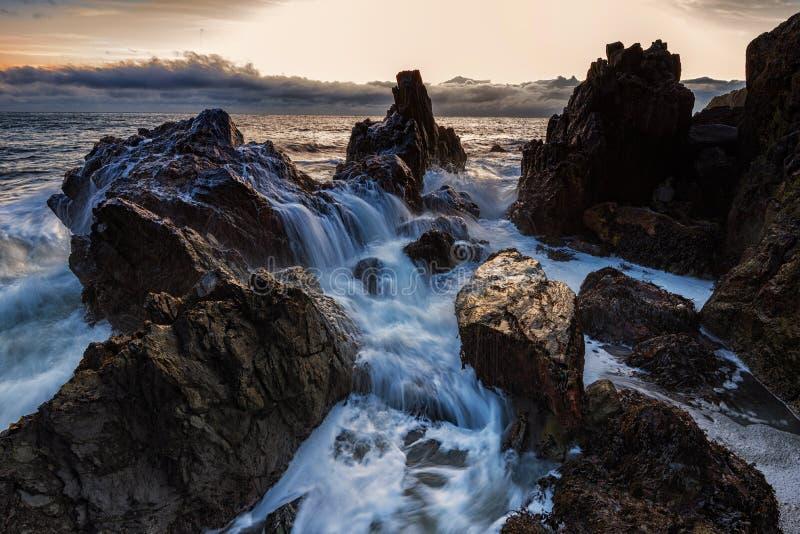 Mar agitado 2 imagenes de archivo