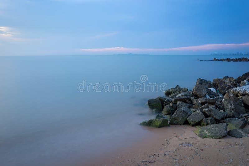 Mar azul fotografía de archivo libre de regalías