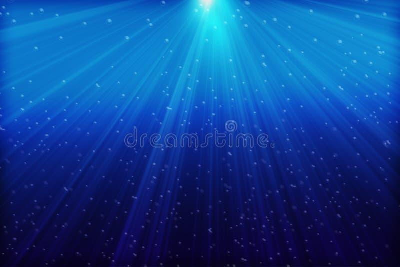 Mar azul profundo imágenes de archivo libres de regalías