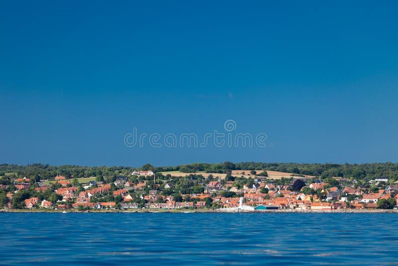Mar Báltico Dinamarca Escandinavia Europa de Christiansoe Bornholm del fuerte de la isla imagen de archivo libre de regalías