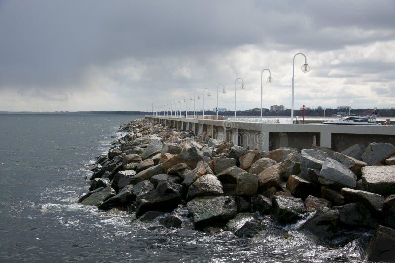 Mar Báltico, Sopot fotos de archivo