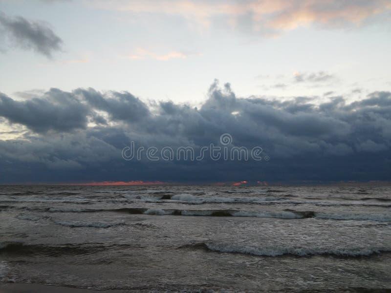 Mar Baltico fotografie stock