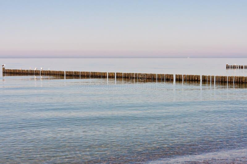 Mar Baltico, Germania fotografia stock libera da diritti