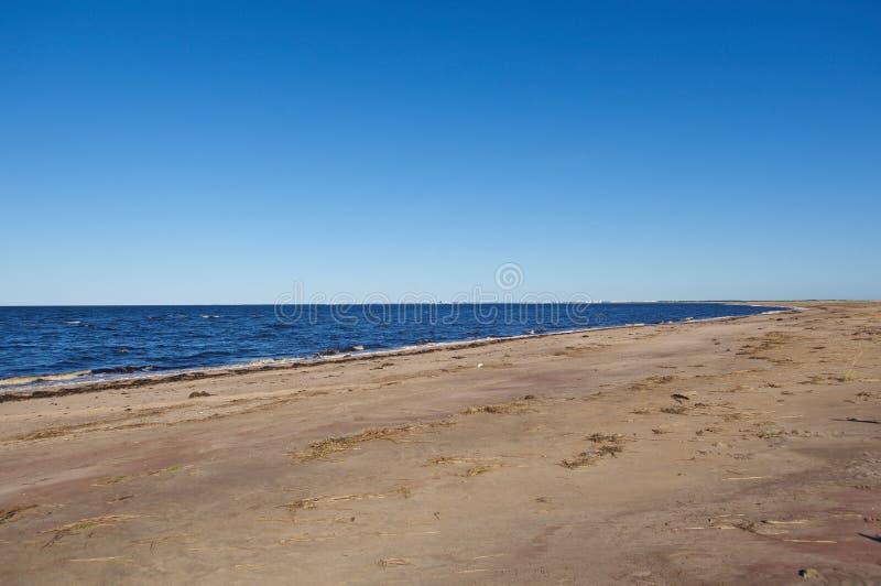 Mar blanco del litoral foto de archivo