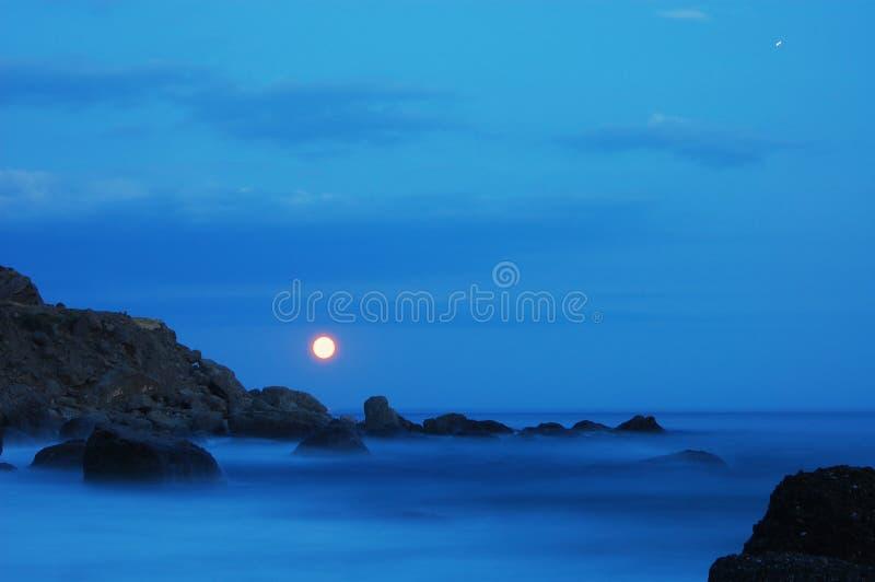 Download Mar brumoso imagen de archivo. Imagen de tarde, niebla - 7275083