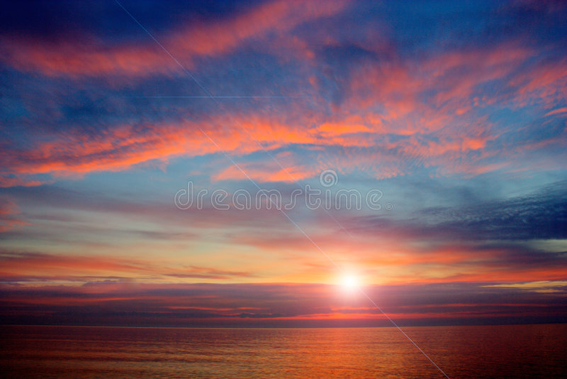 Mar Calo-HDR-Preto fotografia de stock royalty free