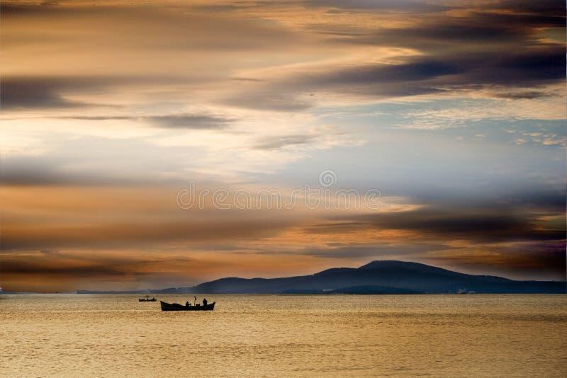 Mar Calo-Preto foto de stock