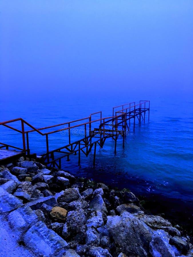 Mar Caspio, Aqtau, il Kazakistan fotografie stock