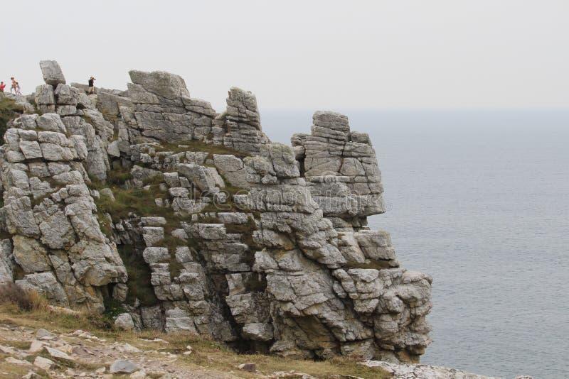 Mar celta imagens de stock