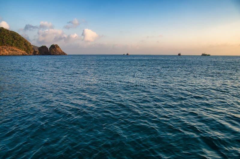 Mar chino del sur imagen de archivo libre de regalías