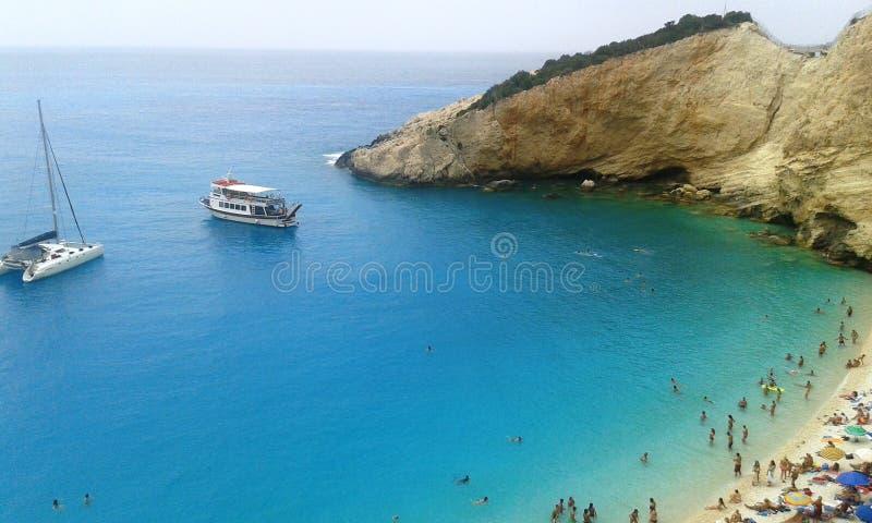 Mar colorido hermoso fotografía de archivo