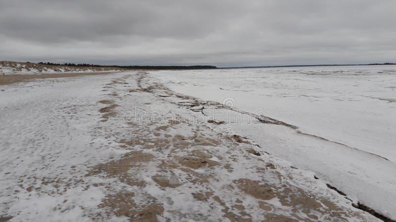 Mar congelado imágenes de archivo libres de regalías