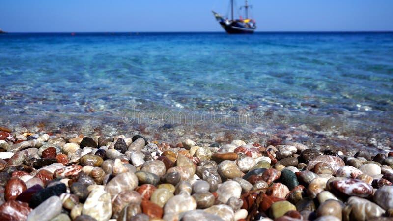 Mar da água a mais limpa imagem de stock royalty free