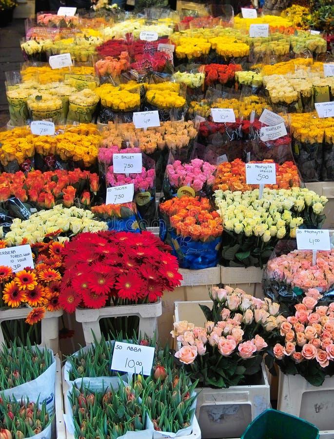 Mar da flor fotografia de stock