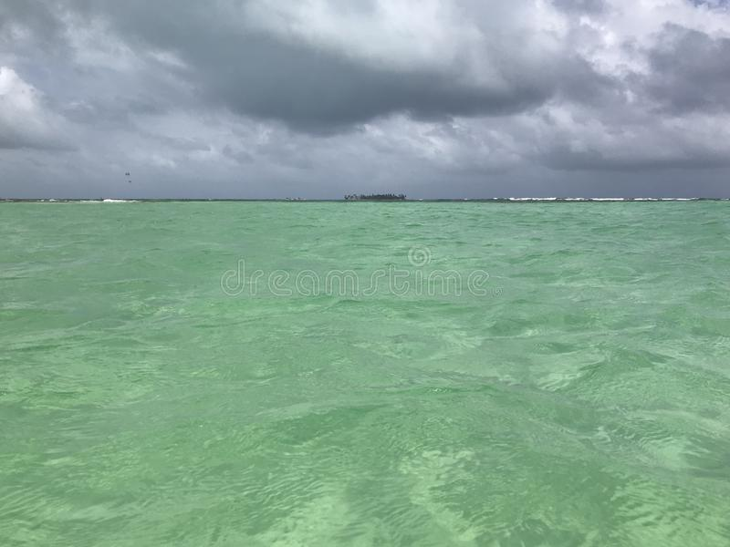 Mar das sete cores fotos de stock royalty free