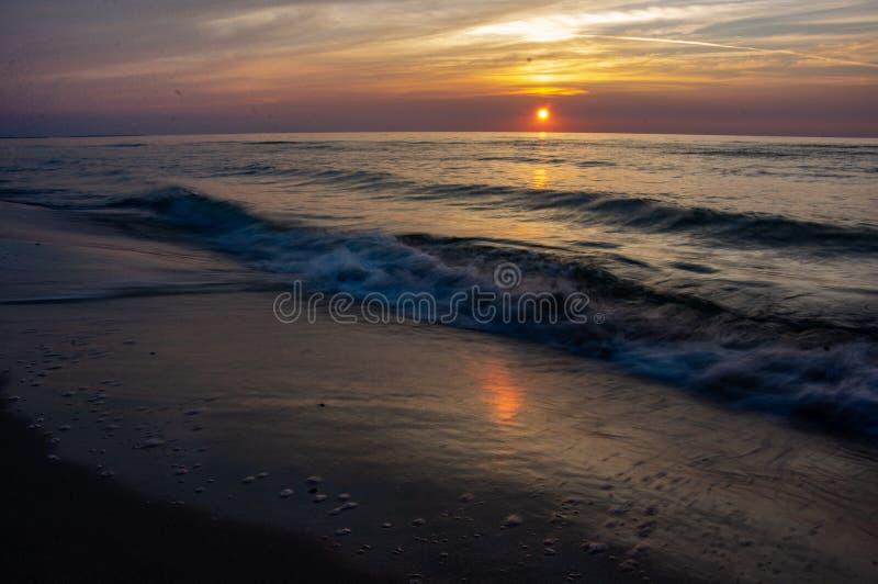 Mar de Blured fotografia de stock
