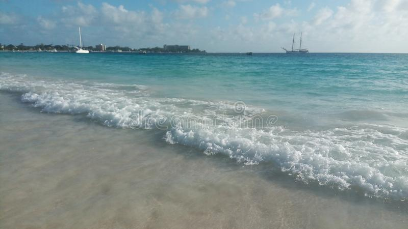 Mar de Caribbian imagens de stock royalty free