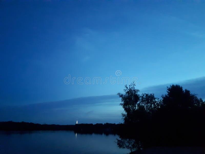 Mar de chen do ¼ de Altwarmbà imagem de stock
