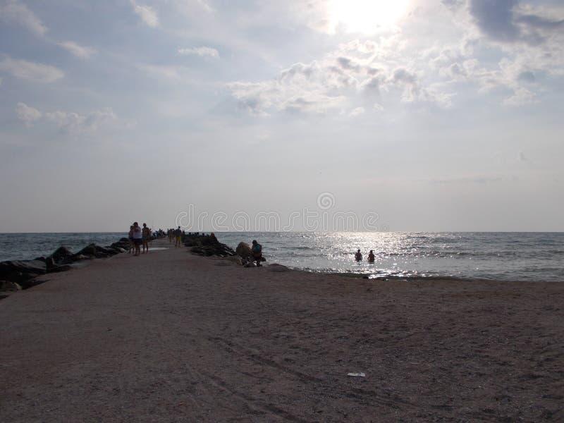 Mar de Constanta, Rom?nia fotos de stock royalty free