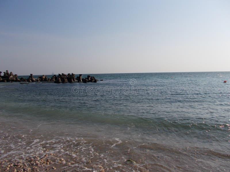Mar de Constanta, Rom?nia imagem de stock royalty free