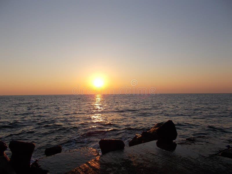 Mar de Constanta, Rom?nia imagem de stock